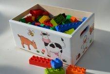 Zvířátkový úložný box